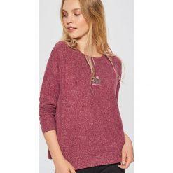 Lekki sweter - Bordowy. Czerwone swetry damskie Cropp. Za 49.99 zł.