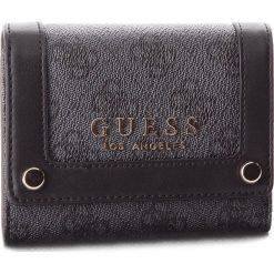 Duży Portfel Damski GUESS - Florence Slg SWSG69 91430 COA. Czarne portfele damskie Guess, ze skóry ekologicznej. W wyprzedaży za 189.00 zł.