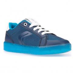 Geox Tenisówki Chłopięce Kommodor 37 Niebieskie. Niebieskie trampki i tenisówki chłopięce Geox, z materiału, eleganckie. W wyprzedaży za 189.00 zł.