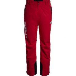 Spodnie narciarskie męskie Serbia Pyeongchang 2018 SPMN700 - czerwony wiśniowy. Czerwone spodnie snowboardowe męskie 4f, z napisami, z dzianiny. W wyprzedaży za 699.95 zł.