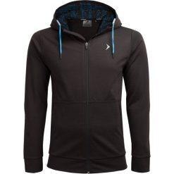Bluza męska BLM607 - głęboka czerń - Outhorn. Czarne bluzy męskie Outhorn. W wyprzedaży za 119.99 zł.