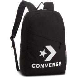 Plecak CONVERSE - 10008091-A01  Czarny. Czarne plecaki damskie Converse, z materiału, sportowe. Za 129.00 zł.