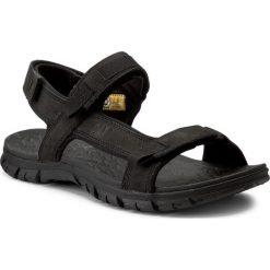 Sandały CATERPILLAR - Atchison P721278 Black. Czarne sandały męskie Caterpillar, z materiału. W wyprzedaży za 249.00 zł.