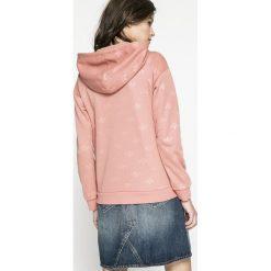 Adidas Originals - Bluza. Szare bluzy damskie adidas Originals, z nadrukiem, z dzianiny. W wyprzedaży za 259.90 zł.