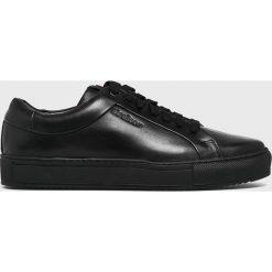 Strellson - Buty. Czarne buty sportowe męskie Strellson, z gumy. W wyprzedaży za 399.90 zł.