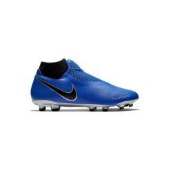 Buty do piłki nożnej Phantom Academy MG korki. Niebieskie buty sportowe męskie Nike, z syntetyku. Za 299.99 zł.