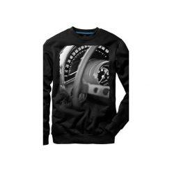 Bluza UNDERWORLD casual Speedometer. Czarne bluzy męskie Underworld, z nadrukiem, z bawełny. Za 119.99 zł.