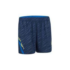 Spodenki badminton 860 damskie. Niebieskie szorty damskie ARTENGO, z elastanu. W wyprzedaży za 39.99 zł.