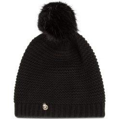 Czapka TRUSSARDI JEANS - Hat Knitted Pon Pon 59Z00116 K229. Czarne czapki i kapelusze damskie TRUSSARDI JEANS, z jeansu. Za 189.00 zł.