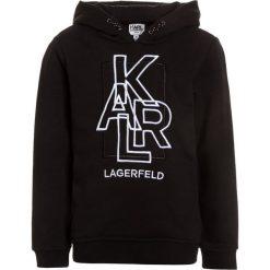 KARL LAGERFELD Bluza z kapturem schwarz. Bluzy dla chłopców KARL LAGERFELD, z bawełny. Za 399.00 zł.