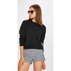 Calvin Klein Jeans - Bluza. Szare bluzy damskie Calvin Klein Jeans, z bawełny. W wyprzedaży za 279.90 zł.