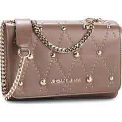 Torebka VERSACE JEANS - E1VSBBEB 70778 148. Brązowe torebki do ręki damskie Versace Jeans, z jeansu. Za 699.00 zł.