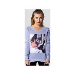 MATRYOSHKA Grace Kelly - Bluza dresowa. Szare bluzy damskie Meet the llama, melanż, z bawełny. Za 109.00 zł.