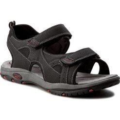Sandały CANGURO - W002-903 Nero. Czarne sandały męskie Canguro, z materiału. W wyprzedaży za 129.00 zł.