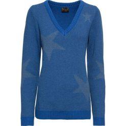 Sweter bonprix niebieski. Swetry damskie marki KALENJI. Za 49.99 zł.