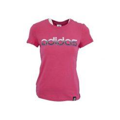 Adidas Koszulka damska Logo Crew różowa r. S. T-shirty damskie Adidas. Za 63.49 zł.