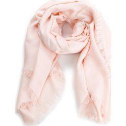 Chusta TORY BURCH - Logo Jacquard Traveler Scarf 45664 Ballet Pink 654. Czerwone szaliki i chusty damskie Tory Burch, z jedwabiu. W wyprzedaży za 579.00 zł.