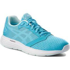 Buty ASICS - Patriot 10 1012A117 Aquarium/White 400. Niebieskie obuwie sportowe damskie Asics, z materiału. W wyprzedaży za 199.00 zł.