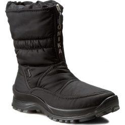 Śniegowce ROMIKA - Alaska 118 87018 76 100 Black. Czarne śniegowce i trapery damskie Romika, z materiału. Za 389.00 zł.