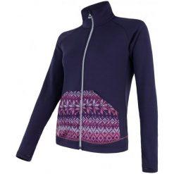 Sensor Bluza Tecnostretch Pattern W Purple S. Bluzy sportowe damskie Sensor. W wyprzedaży za 229.00 zł.