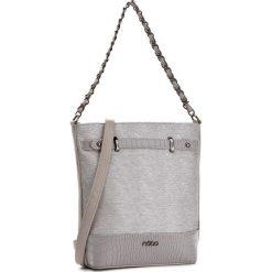 Torebka NOBO - NBAG-C3210-C019 Szary. Szare torebki do ręki damskie Nobo, ze skóry ekologicznej. W wyprzedaży za 139.00 zł.
