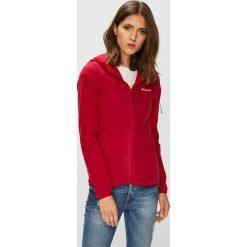 Columbia - Bluza. Czerwone bluzy damskie Columbia, z dzianiny. W wyprzedaży za 299.90 zł.
