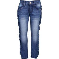 Blue Seven Spodnie Jeansowe Dziewczęce 110 Niebieskie. Niebieskie jeansy dla dziewczynek Blue Seven, z jeansu. Za 105.00 zł.
