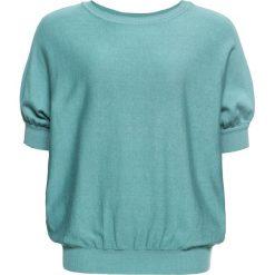 Sweter bonprix zieleń morska. Swetry damskie marki bonprix. Za 74.99 zł.