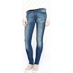 Wrangler - Jeansy Corynn Dark Lake. Niebieskie jeansy damskie Wrangler. Za 349.90 zł.