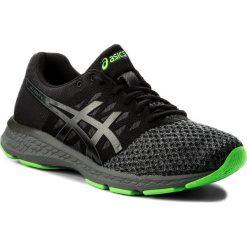 Buty ASICS - Gel-Exalt 4 T7E0N Black/Carbon/Green Gecko 9097. Buty sportowe męskie Asics, z materiału, do biegania. W wyprzedaży za 259.00 zł.