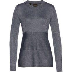 Sweter z baskinką bonprix ciemnoniebieski. Swetry damskie marki bonprix. Za 59.99 zł.
