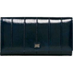 Nobo - Portfel skórzany. Czarne portfele damskie Nobo, z materiału. W wyprzedaży za 219.90 zł.