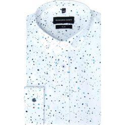 Koszula SIMONE KDBS000250. Białe koszule męskie Giacomo Conti, z jeansu, button down. Za 169.00 zł.