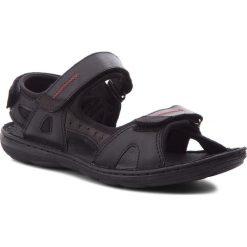 Sandały ŁUKBUT - 991 Czarny. Czarne sandały męskie Łukbut, z materiału. W wyprzedaży za 149.00 zł.