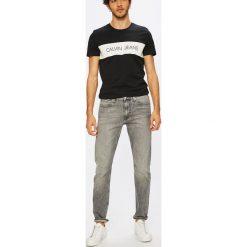 Calvin Klein Jeans - Jeansy CKJ 026. Szare jeansy męskie Calvin Klein Jeans. W wyprzedaży za 399.90 zł.