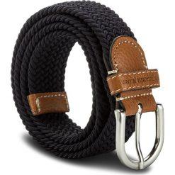 Pasek Damski TRUSSARDI JEANS - Belt Twist 71L00037 U280. Niebieskie paski damskie TRUSSARDI JEANS, w paski, z jeansu. W wyprzedaży za 259.00 zł.