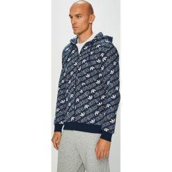 Adidas Originals - Bluza. Szare bluzy męskie adidas Originals, z bawełny. W wyprzedaży za 299.90 zł.