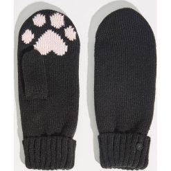 Rękawiczki z jednym palcem - Czarny. Czarne rękawiczki damskie Sinsay. Za 24.99 zł.