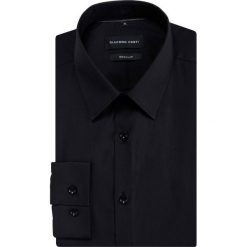 Koszula SIMONE KDCR000471. Czarne koszule męskie Giacomo Conti, z klasycznym kołnierzykiem, z długim rękawem. Za 149.00 zł.