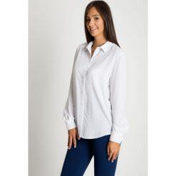 Biała koszula zapinana na guziki BIALCON. Białe koszule damskie BIALCON, eleganckie, z klasycznym kołnierzykiem, z długim rękawem. Za 189.00 zł.