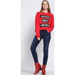 Czerwona Bluza Five Minutes More. Czerwone bluzy damskie Born2be. Za 69.99 zł.