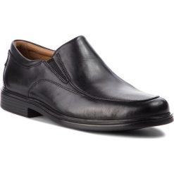 Półbuty CLARKS - Un Aldric Walk 261373517 Black Leather. Czarne eleganckie półbuty Clarks, ze skóry. W wyprzedaży za 319.00 zł.