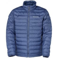 Columbia Kurtka Męska Powder Lite Jacket Collegiate Navy S. Niebieskie kurtki sportowe męskie Columbia, na zimę, z materiału. W wyprzedaży za 289.00 zł.