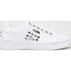 Wyprzedaż białe obuwie sportowe damskie Guess Jeans