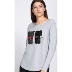Jasnoszary Sweter See Us. Szare swetry damskie Born2be. Za 89.99 zł.