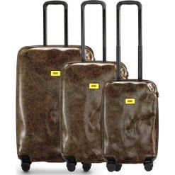 Walizki Surface w zestawie 3 el. Brown Fur. Walizki męskie Crash Baggage, z materiału. Za 2,712.00 zł.