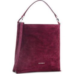 Torebka COCCINELLE - CI1 Keyla Suede E1 CI1 13 02 01 Grape R04. Czerwone torebki do ręki damskie Coccinelle, ze skóry. Za 1,249.90 zł.