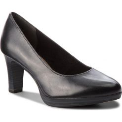 Półbuty TAMARIS - 1-22410-21 Black 001. Czarne półbuty damskie Tamaris, z materiału, eleganckie. W wyprzedaży za 189.00 zł.