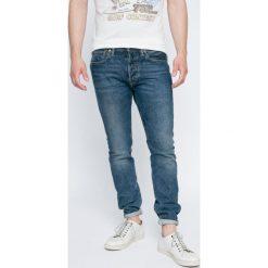 Levi's - Jeansy 501. Brązowe jeansy męskie Levi's. W wyprzedaży za 269.90 zł.