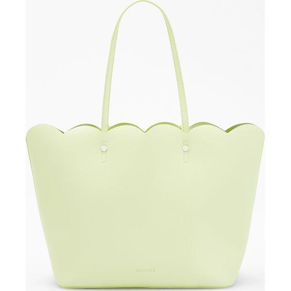 6a17e7bd1409d Torebka typu shopper - Zielony - Torebki shopper damskie marki ...